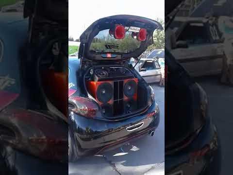 Peugeot 208 pancadao 4 jbl pw8 #MF AUDIOCAR