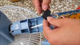 家用電風扇轉速變慢時,不是壞了只需換電容器,自行換裝電容器很便宜,只要是吊扇,電風扇都能換裝,買up值一樣就可以了