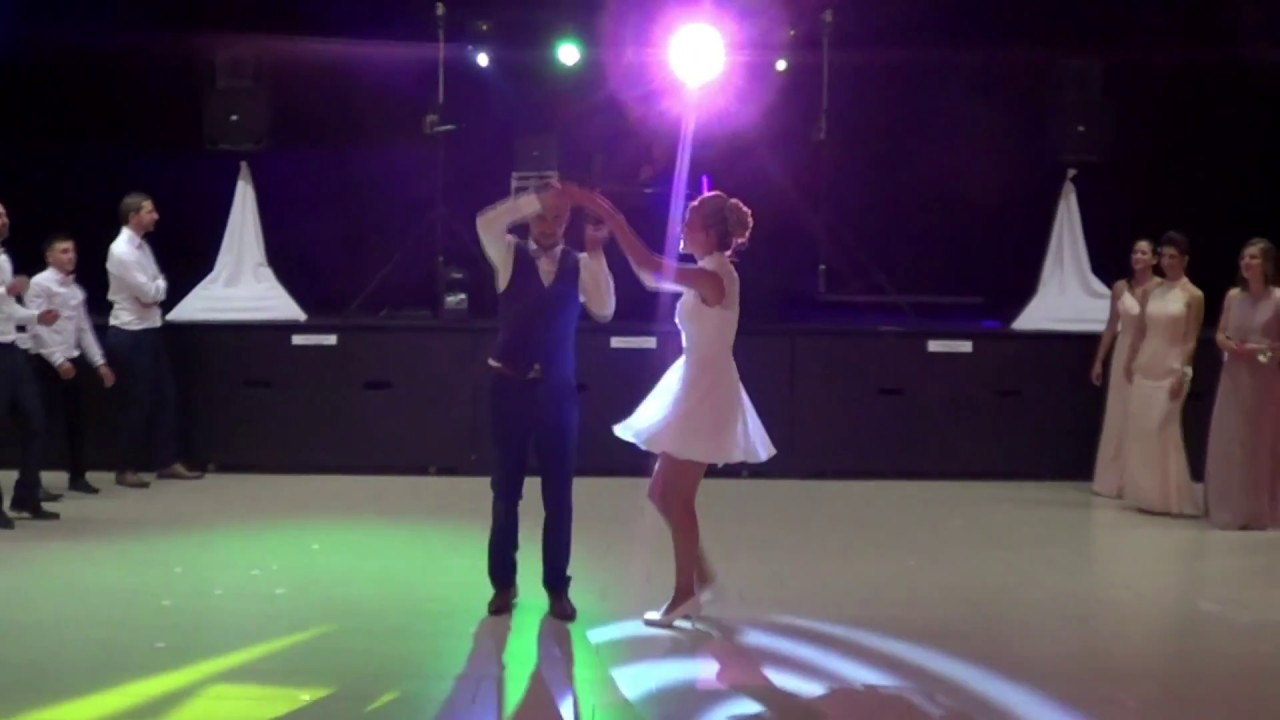 33fb6afecbb Wedding dance surprise Marine   Davy 05.05.18 - YouTube