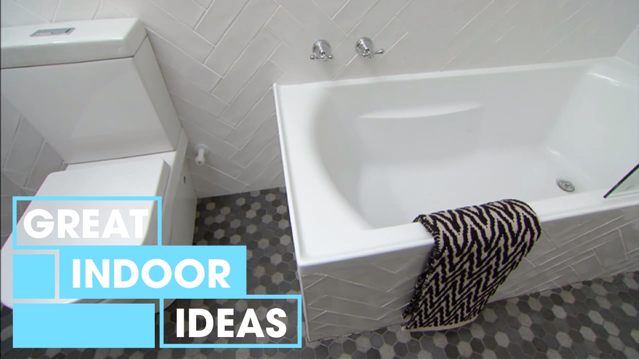 Creative Small Bathroom Makeover On A Budget Indoor Great Home - Bathroom shower makeovers on a budget