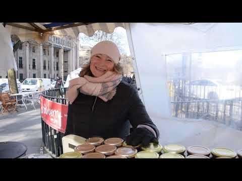Edinburgh's Street Markets - Farmers' Market, Saturdays 9-5 - Veg and Dairy