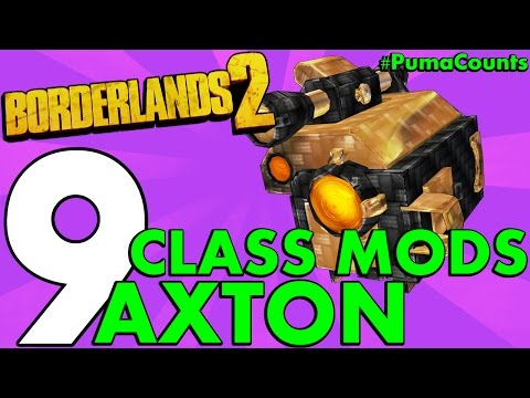 Top 9 Best Regular and Legendary Class Mods for Axton the