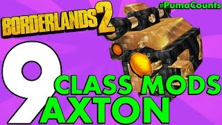 top 9 best regular and legendary class mods for axton the commando in borderlands 2 pumacounts