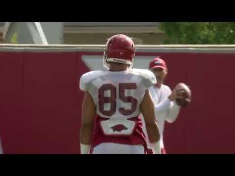 Arkansas Football Practice 9-4-18