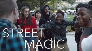 STREET MAGIC || THE BEST REACTION EVER!!!