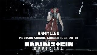 rammstein rammlied live from madison square garden