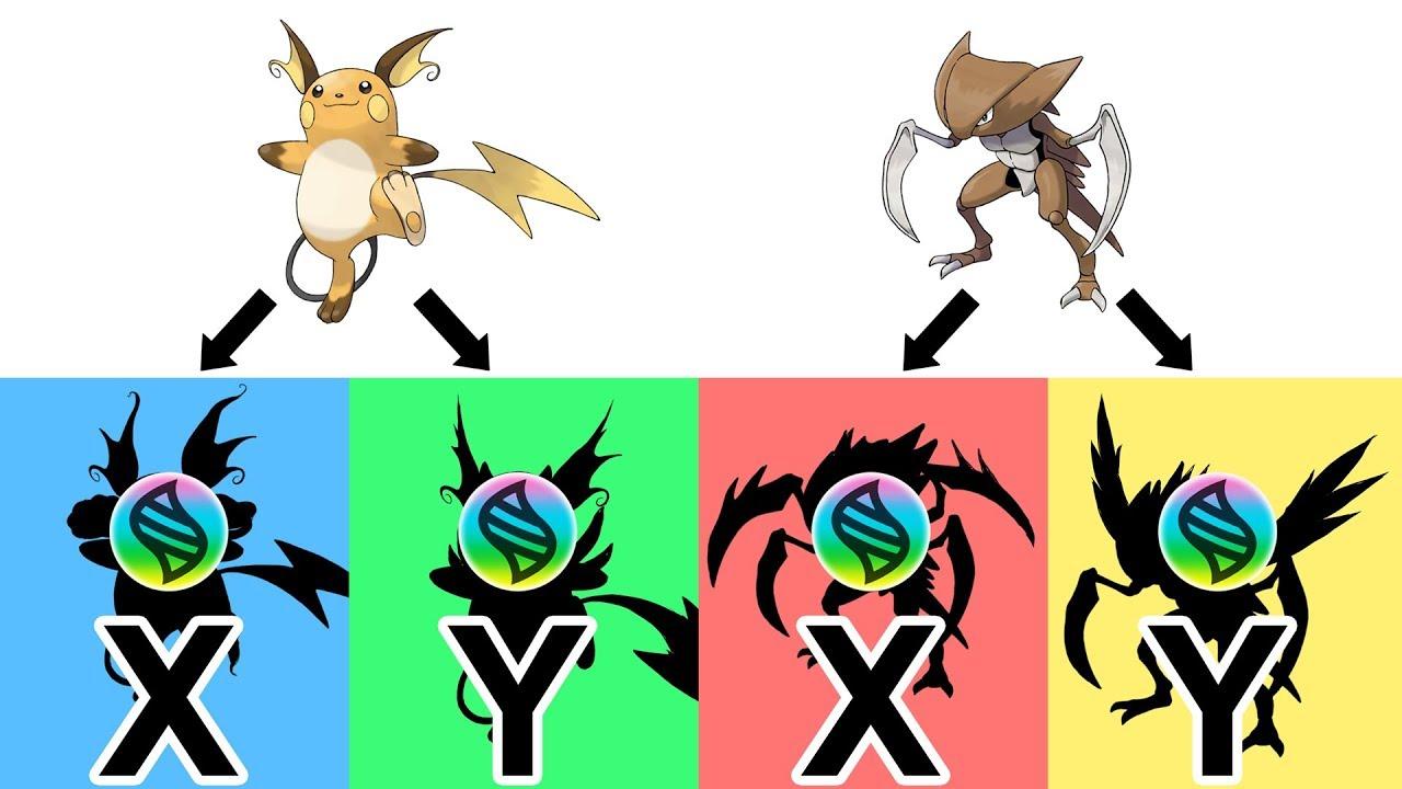Pokemon X Raichu Mega Evolution Colorier Les Enfants