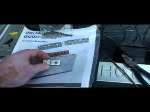 Generac 6053 17KW Generator Installation 200amp Transfer Switch
