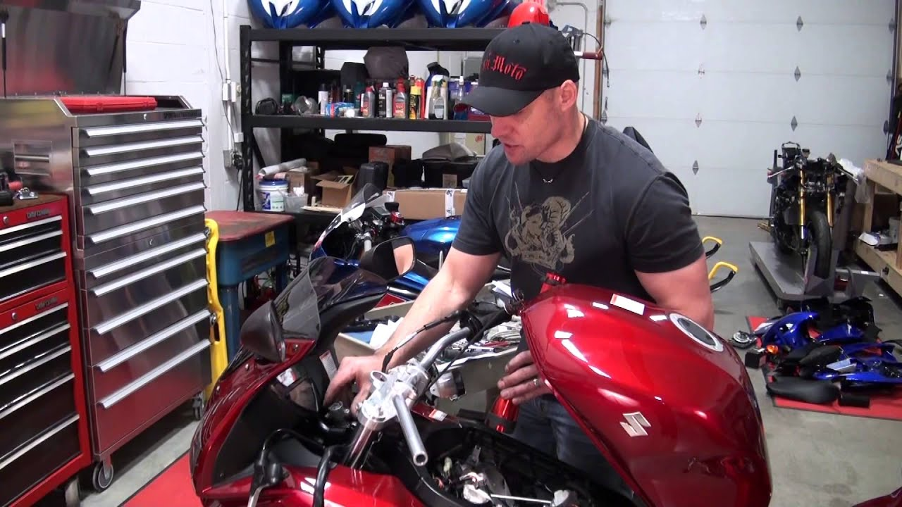 Watch Top Gear Online >> LSL Superbike Handle Bar Riser Kit Review and Install from SportbikeTrackGear.com - YouTube