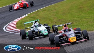 Croft Highlights | F4 British Championship | Ford Performance