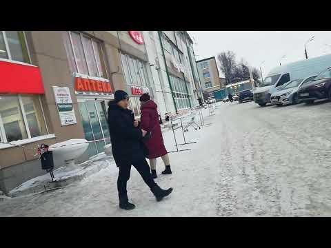 Проходка. Казань. ТЦ Мегамебель. 11.01