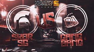 MC5 ANDROID - SKOR GAMING vs GANG BANG!   SKOR GAMING
