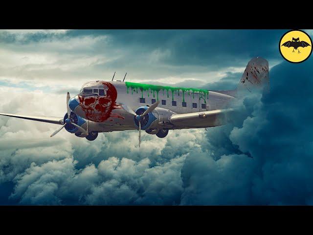 El Avión Que Aterrizó Con 92 Esqueletos A Bordo.