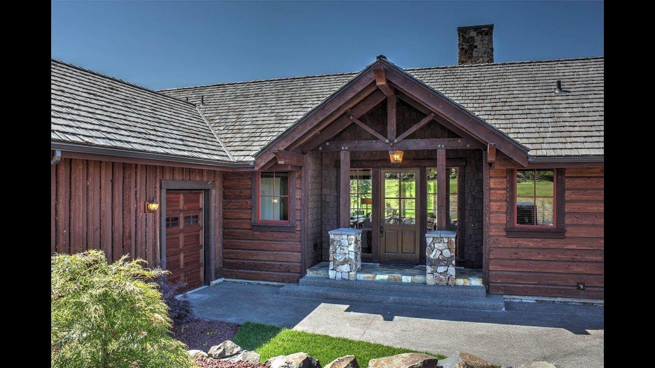 Contemporary Mountain Style Home In Coeur D Alene Idaho
