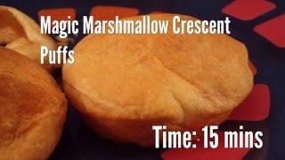 Magic Marshmallow Crescent Puffs Recipe