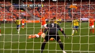 (Resumen) Holanda 1-1 Ecuador. Amistoso internacional previo al Mundial Brasil 2014