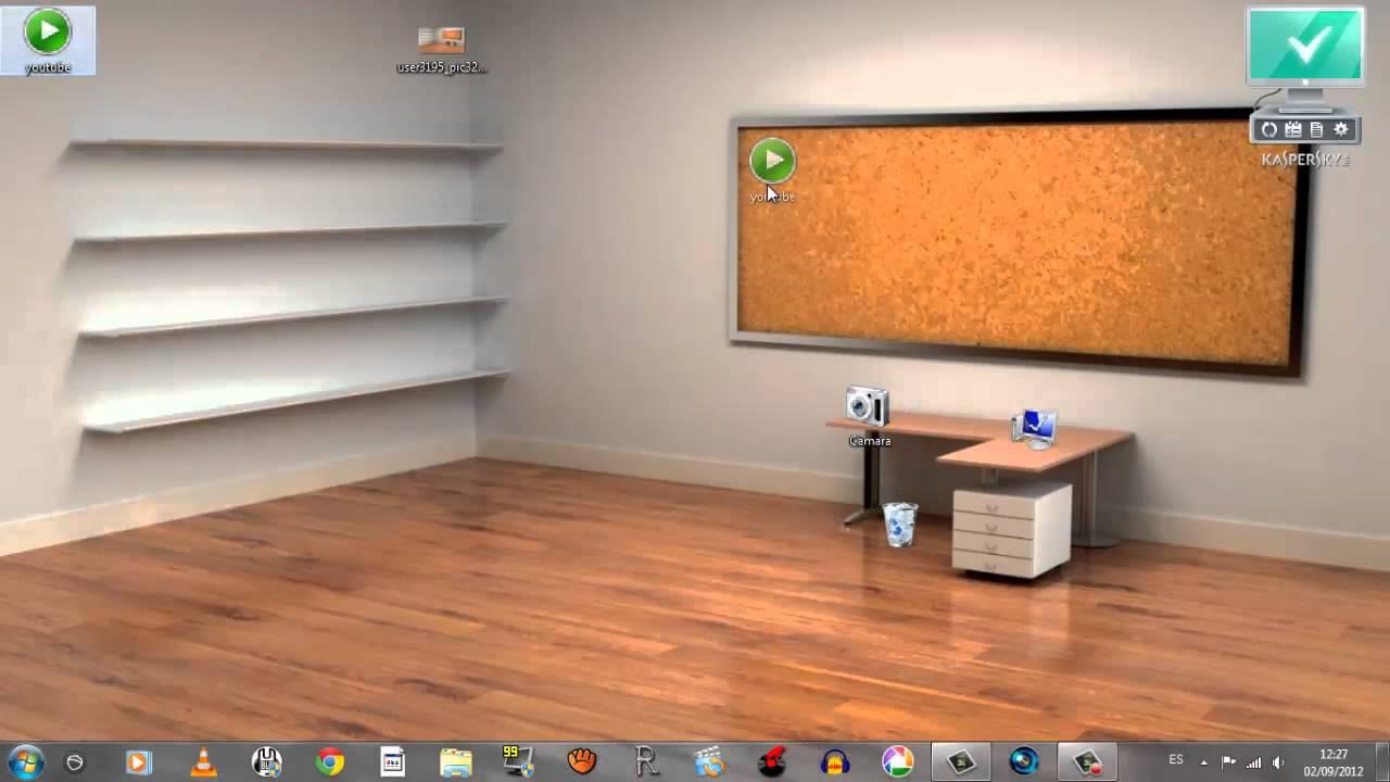 Tutorial como tener tu escritorio ordenado youtube - Escritorio habitacion ...