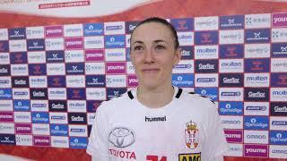 """Kristina Liščević: Mislila Sam """"I Da Pogodi Stranu, Uneću Je U Gol""""   SPORT KLUB Rukomet"""
