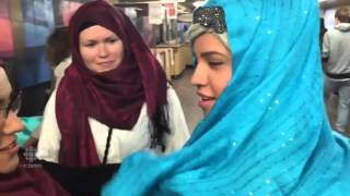 CBC News: Ahmadiyya Muslim Community #JeSuisHijabi event at University of Saskatoon