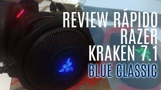 [BR] Razer Kraken 7.1 Blue Classic rápido review
