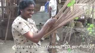 Sweeping Away Poverty by Making Brooms in Sri Lanka