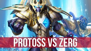 StarCraft 2: Legacy of the Void - Protoss Gameplay!