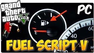 FUEL  V MOD | Los vehículos gastan combustible | GTA 5 MOD PC ESPAÑOL