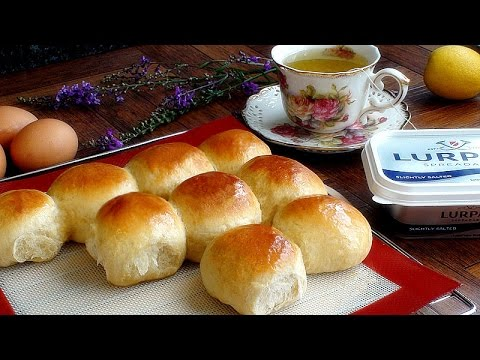 How To Make Bakery Style Super Soft Chewy Dinner Rolls   微波面包 3GP Mp4 HD Free download