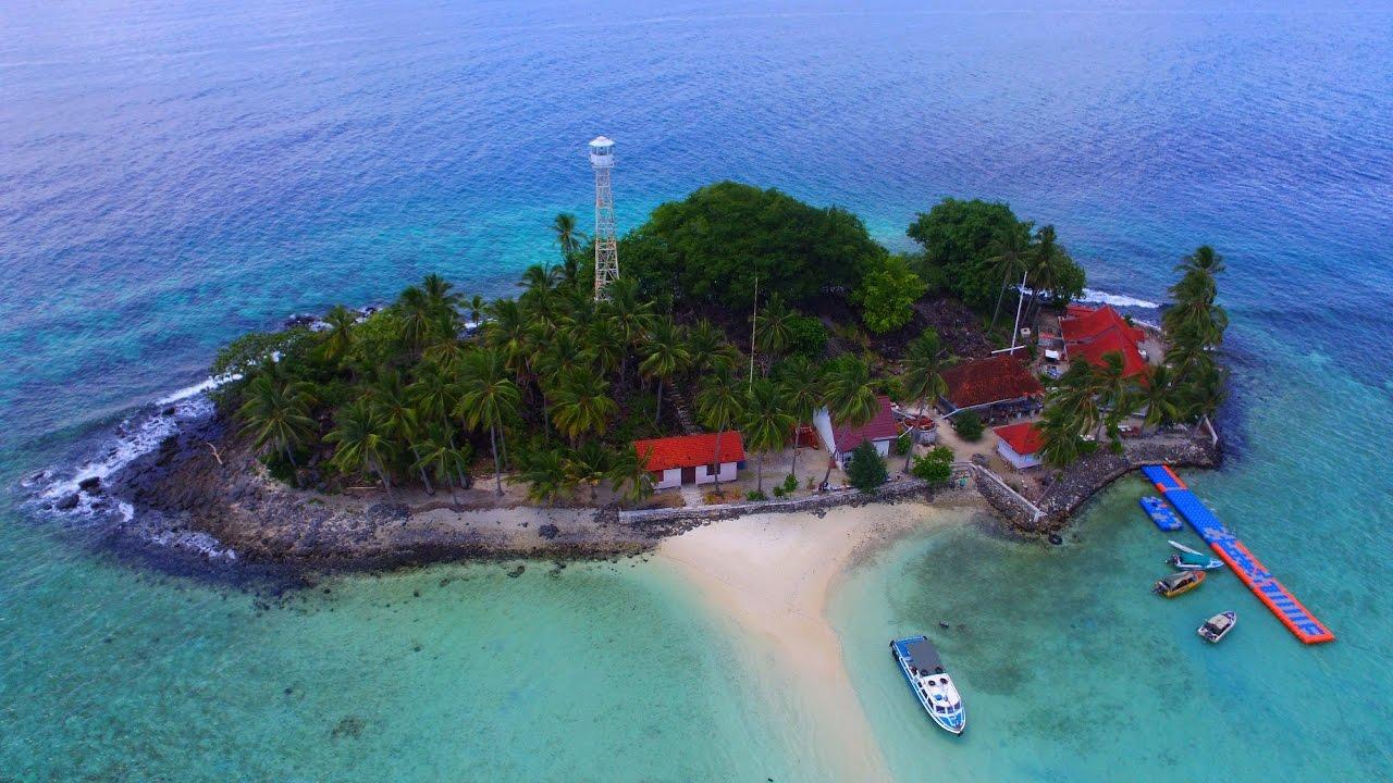 Ilustrasi Pulau Samber Gelap, Kalimantan Selatan