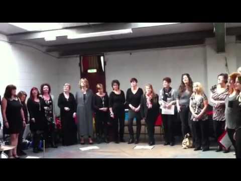 Rockavox choir performing at JDT Music Academy in Dereham