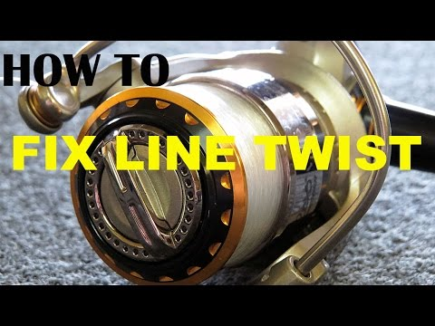 How To Fix Line Twist In Spinning Reels - This Works! | Bass Fishing