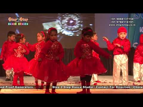 Kids Bollywood Dance Performance | Annual Day Function | Bollywood Dance Choreography By Step2Step