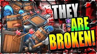 THE MOST BROKEN CARD!! UNSTOPPABLE NEW META DECK!! Clash Royale