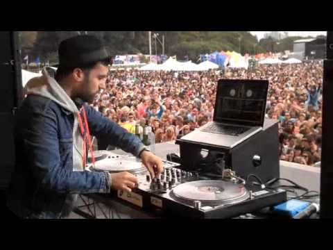 A-Trak at Parklife 2009 - Sydney pt. 1
