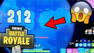 WORLD'S LONGEST SNIPER SHOT!!! (Fortnite Battle Royale) thumbnail