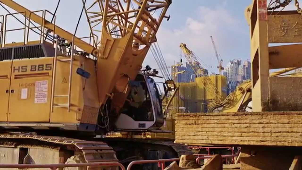 kong Liebherr crane hong