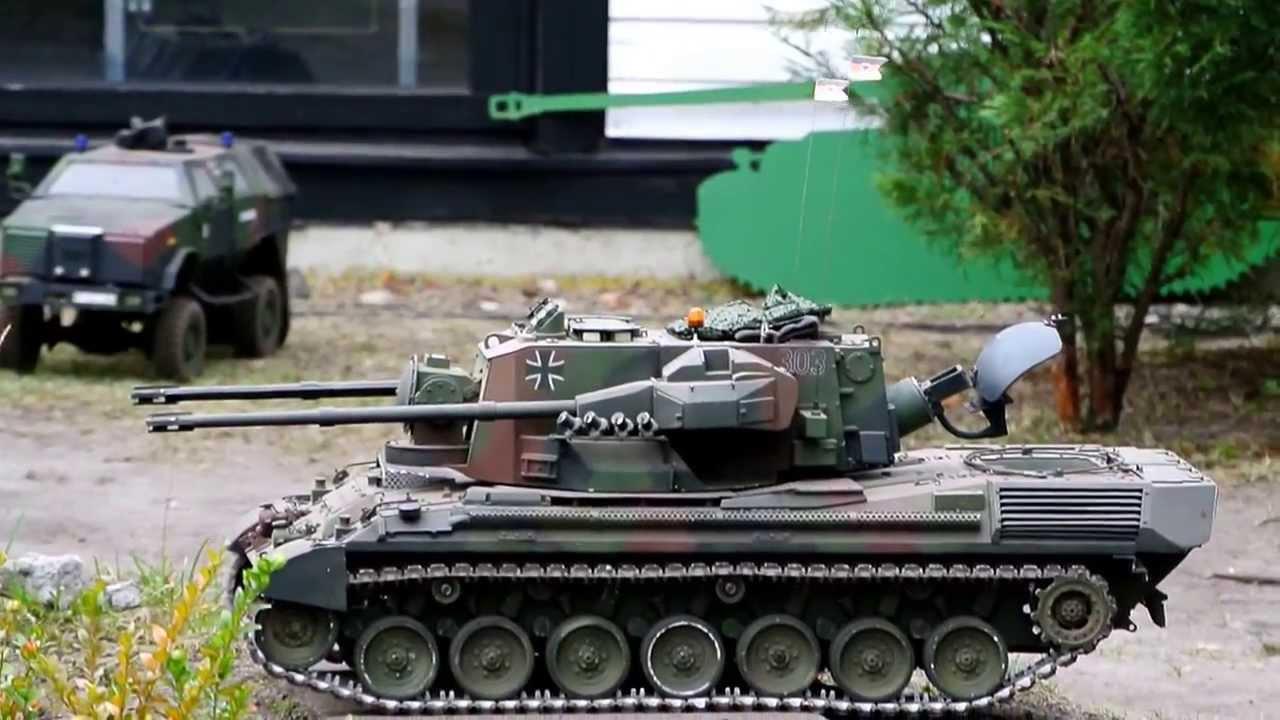 flak panzer gepard modell ma stab 1 8 eigenbau stahl. Black Bedroom Furniture Sets. Home Design Ideas