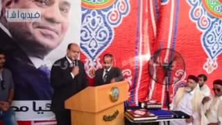 بالفيديو : احتفالية افتتاح المدينة الجامعيه  لطلاب مطروح بالإسكندرية