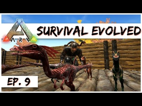 Ark Survival Evolved - Ep. 9 - Taming A Compsognathus (Compy)! - Gameplay - Let's Play