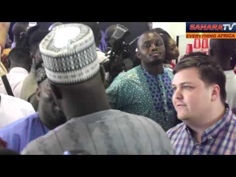 Dino Melaye Shuns American Reporter Who Works For Sahara Reporters. Throwback Video