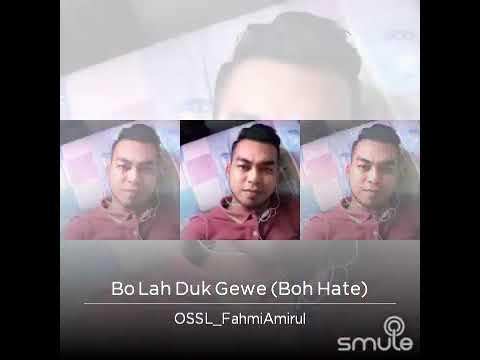 Bo lah duk gewe (Cover)