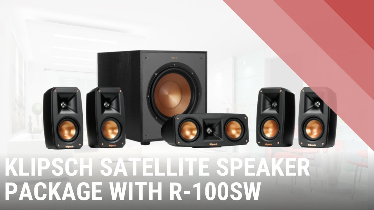 Klipsch Reference Theatre 5 1 Satellite Speaker Package - QuickLook India