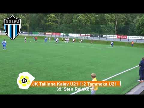 Esiliiga B XXVI voor: JK Tallinna Kalev U21 4:2 Tammeka U21