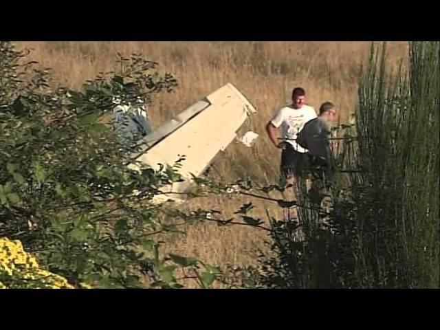 One dies in plane crash near small Camas airfield
