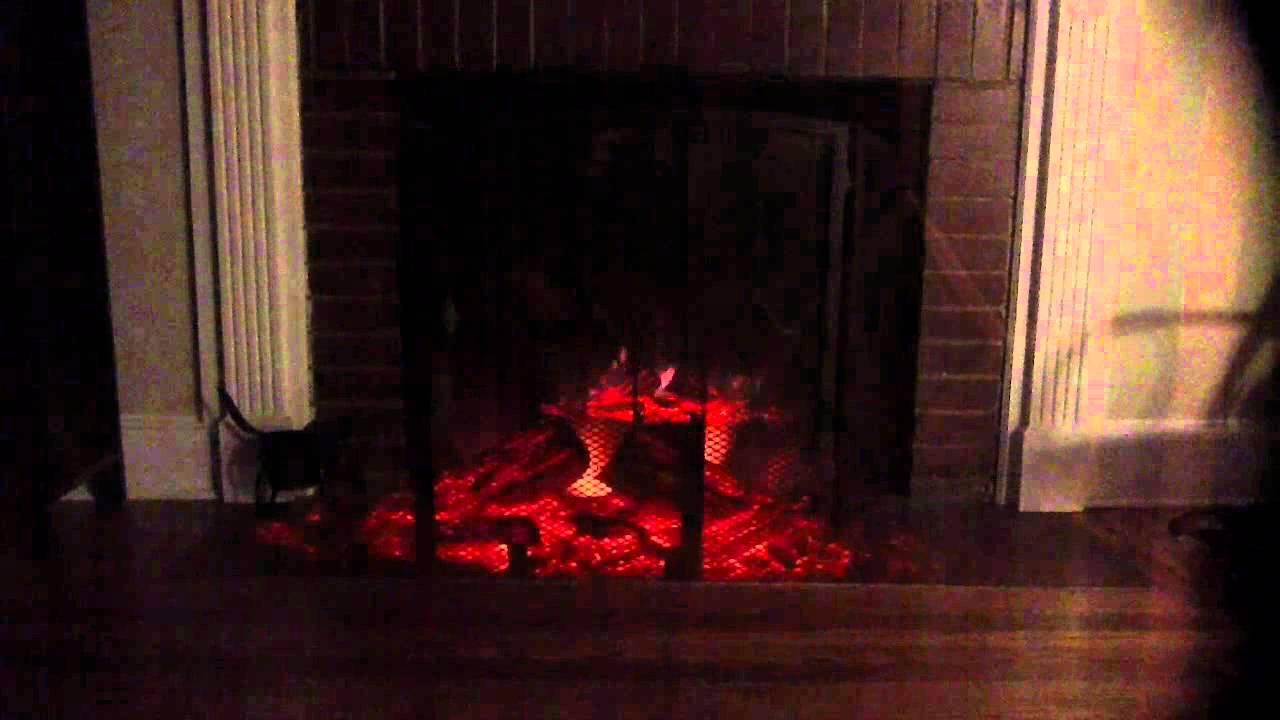 muskoka electric fireplace log insert youtube