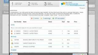 MenuMax Upload Order Guide Products Tutorial