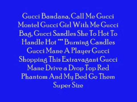 Souija Boy Gucci Bandana *LYRICS*