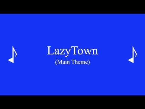 LazyTown (Main Theme) (Piano Cover)
