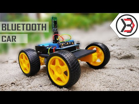 How To Make A Simple DIY Arduino Bluetooth Controlled Car At Home