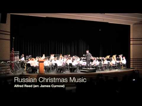 Mount View Middle School Symphonic Band -- Winter Concert 2015